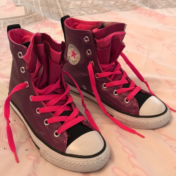 1e1c4895cc3b Converse Other - Girl s Converse All Star ruffle high tops